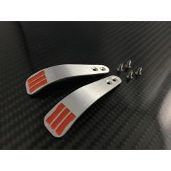 PS4 Paddles Aluminium Gravur zweifarbig