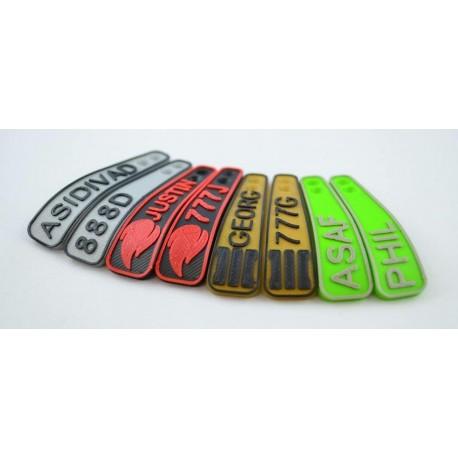 PS4 Paddles Custom zweifarbig