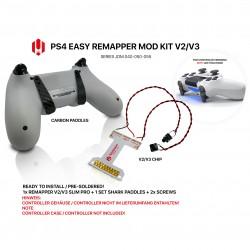 Easy Remapper V2 V3 | Pro | Slim | CARBON | JDM 040 - 055 | für PS4 Controller