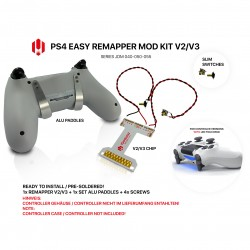Easy Remapper V2 V3 | Pro | Slim | ALU | JDM 040 - 055 | for PS4 Controller