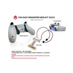 Easy Remapper V2 V3 | Pro | Slim | SABER CURVED II | JDM 040 - 055 | für PS4 Controller
