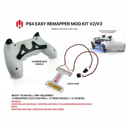 Easy Remapper V2 V3 | Pro | Slim | FRESH | JDM 040 - 055 | for PS4 Controller