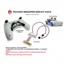 Easy Remapper V2 V3 | Pro | Slim | Hammerhead | JDM 040 - 055 | für PS4 Controller