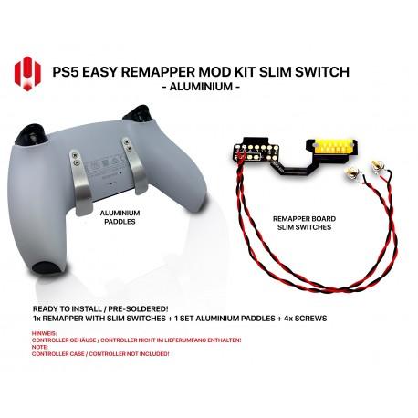 Easy Remapper V2 V3 | Pro | Slim | ALU | JDM 040 - 055 | for PS4 Controller