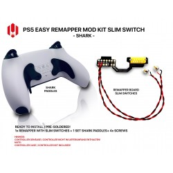 Easy Remapper V1| SHARK | for PS5 Controller